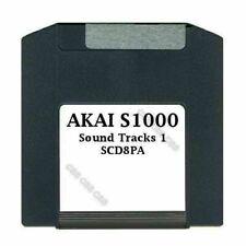Akai S1000 100MB Zip Disk Sound Tracks 1 SCD8PA