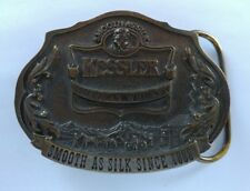 KESSLER AMERICAN WHISKEY SMOOTH AS SILK BEVERAGE LIMITED EDITION BELT BUCKLE