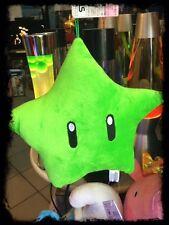 stella star super Mario bros  20 cm  nintendo colore verde peluche velluto