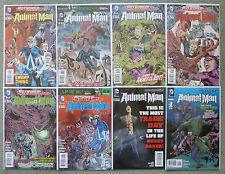 "SWAMP THING/ANIMAL MAN #12-18 + ANNUAL #1 ""ROTWORLD""..DC NEW 52 1ST PRINT..VFN+"