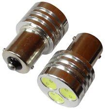 2x Ampoules 24V P21W R10W R5W 3LED HIGH POWER 3W blanc pour camion semi-remorque