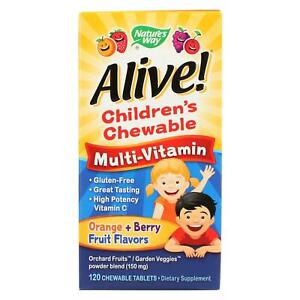 Kid's Chewable Multi-Vitamin with 26 Fruits & Veggies 120 Tablets | Vitamin D3
