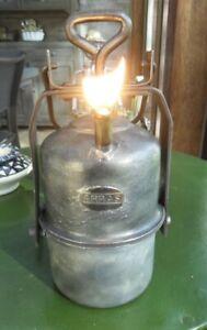 "LAMPE A CARBURE / ACETYLENE - "" ARRAS - TYPE T3"""