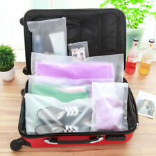 Portable Travel Storage Waterproof Shoes Organizer Pouch Plastic Packing Bag JT