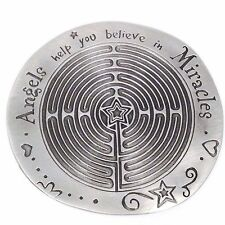 New ANGEL HELP YOU BELIEVE IN MIRACLES Token Paperweight by Ganz Free Shipping