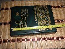 Biblia Catolica Latinoamericana (Edición Pastoral) de tamaño grande con indice.