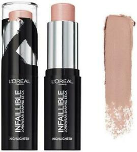 L'Oreal Infaillible Shaping Stick Highlighter Slay In Rose Oh My Jewels Contour