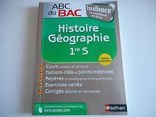 ABC DU BAC - HISTOIRE GEOGRAPHIE 1er S - NATHAN