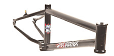 "S&M BIKES STEEL PANTHER RACE FRAME GLOSS BLACK 21.25 BMX 20"" BIKE 21.25"" RACING"