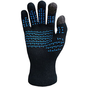 DexShell Ultralite Táctil Impermeable Transpirable Guantes - Heather Azul