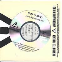 SERJ TANKIAN Imperfect Harmonies UK numbered/watermarked promo test CD sealed