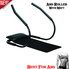 Abdominal Abs Sit up Roller with Mat Stomach Belly Toning Crunch Ab Exercise