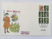 GB UK Great Britain Machin Head FDC Lot 4