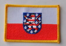 AUFNÄHER PATCH 0283 AUFBÜGLER FAHNE FLAGGE THÜRINGEN mit WAPPEN SAMMLER  TH 1