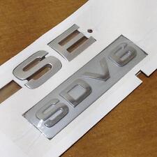 Véritable range rover sport se sdv6 badge HSE SE TDV8 arrière coffre badge emblème