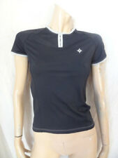 (204DEC) BNWT £40 Sz 8 *SPECIALIZED* Black cycling T-shirt top ladies/womens