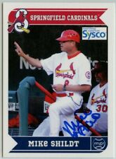 2013 Grandstand Springfield Cardinals Stadium Giveaway Mike Shildt Auto Signed