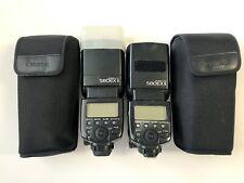 Canon Speedlite 580EX II Shoe Mount Flash for  Canon pair