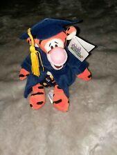 Disneyland Walt Disney World Grad Nite 1999 Tigger Bean Bag Plush Vintage NWT