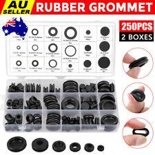 Rubber Grommet Assortment Kit - 125 Pieces (753807585392)
