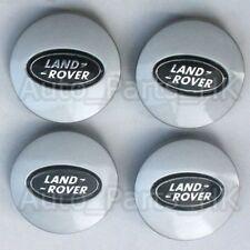 4 Cache Jante moyeux Centre roue Boulon - pour Land Rover Freelander Noir 62mm