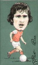 Arsenal célèbre footballeurs collectionneurs de cartes-Marin Adams Dixon Wright Bergkamp