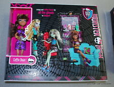 Monster High: Clawdeen Wolf Coffin Bean Coffee House Playset NRFB New