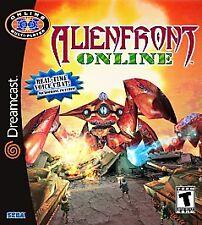 Alien Front Online (Sega Dreamcast, 2001) -Complete (No Microphone)