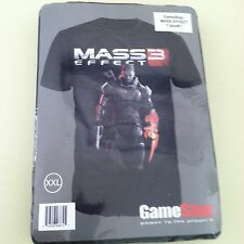 Mass Effect 3 Gamer T-Shirt Game Stop XXL BRAND NEW AND SEALED