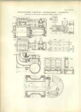 1893 Four-cylinder Compound Consolidation Brooks Dunkirk Drawings