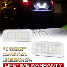 Ford Explorer Fusion Fiesta Escape [SUPER BRIGHT] LED License Plate Lights Lamps