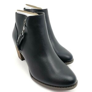 Michael By Michael Shannon Sarah Womens Size 8.5 Side Zip Ankle Booties Shoes