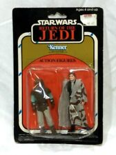 1983 KB Kay Bee Star Wars ROTJ Figure 2 Pack Carded Sealed Han Solo Weequay RARE