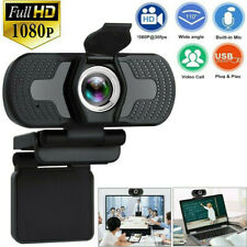 1080P Full HD USB Webcams for PC Desktop & Laptop Web Camera with Microphone/FHD