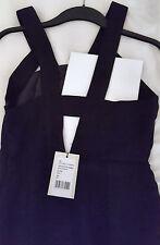 Kleid Cocktailkleid schwarz 36 S mit Etikett ungetragen cut out Kiomi Business