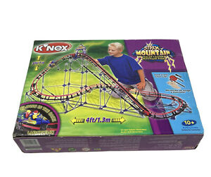 K'NEX Storm Mountain Rollercoaster Construction Toy - Discontinued Complete
