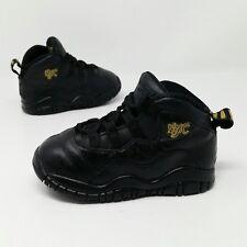 super popular a6245 4dcd2 Nike Air Jordan X 10 (Toddler Size 7C) Retro Black Basketball Sneaker Shoes