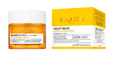 Decleor Night Balm Anti-Fatigue Antioxidant Vitamin Glow Green Mandarin 15ml NEW