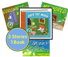 Over the Moon 3in1 Goodnight Moon,Runaway Bunny, My World by Margaret Wise Brown