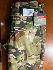 Under Armour Storm Camo Water Resistant Pants Boys Size 10 - MSRP $59.99