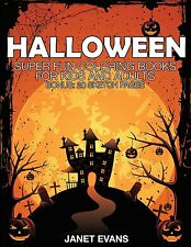 Halloween: Super Fun Coloring Books for Kids and Adults (Paperback)