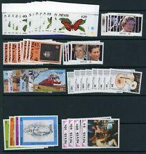 Nevis 1991 complete SG 573-653 UM/MNH