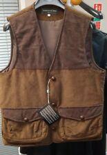 Adrian & Sons Brescia Adriano Fracassi Military Brown Vest Jacket