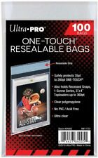 Ultra Pro 100 One-Touch Resealable Bags - Magnetic Holder Magic, Pokemon Yugioh