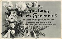 Postcard The Lord is my Shepherd
