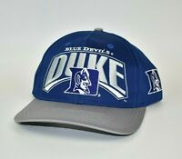 Duke Blue Devils Vintage 90's Twins Enterprise NCAA Adjustable Snapback Cap Hat
