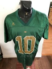 MENS Large Adidas Football Jersey Notre Dame #10