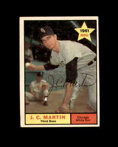 J.C. Martin Signed 1961 Topps Rookie Chicago White Sox Autograph