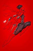 DAREDEVIL #29 (DAVID NAKAYAMA EXCLUSIVE VIRGIN VARIANT) ~ ELEKTRA AS DAREDEVIL