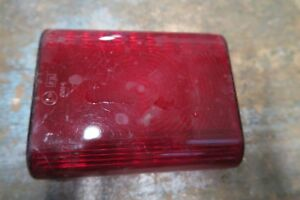 Rubbolite red Stop Tail lens 0014 T327309 Vintage Classic truck lorry trailer